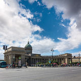 Kazan Cathedral in St.Petersburg, Russia Royalty Free Stock Photos