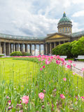 Kazan Cathedral, St. Petersburg, Russia Stock Images