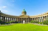 Kazan Cathedral. St.-Petersburg, Russia Royalty Free Stock Photo