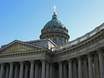 Kazan Cathedral, St. Petersburg, Russia. Kazan Cathedral in Saint Petersburg. Landmark. Tourist attraction. Historic building. Architectural monument Stock Photography