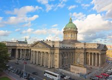 Kazan Cathedral in St. Petersburg, Russia Royalty Free Stock Images