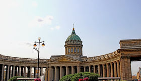 Kazan Cathedral in St. Petersburg (Russia) Stock Image