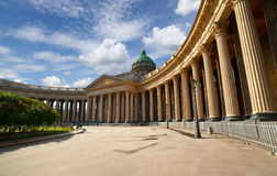 Kazan Cathedral in St.Petersburg Royalty Free Stock Photography