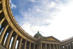 Kazan Cathedral, St. Petersburg Royalty Free Stock Images