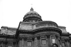 Kazan Cathedral. Royalty Free Stock Photos