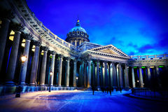 Kazan Cathedral. Vignetting Photo of Kazan Cathedral in St. Petersburg Russia Stock Photography