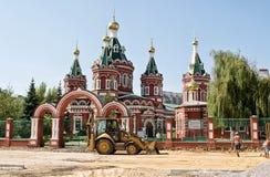 Kazan Cathedral in Volgograd stock image