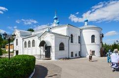 Kazan Church in the Holy Dormition Knyaginin convent, Vladimir, Royalty Free Stock Photos