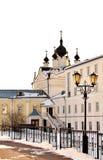 Kazan church of the Nicholas Ugreshsky Monastery Royalty Free Stock Image