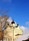 Kazan church of the Nicholas Ugreshsky Monastery Royalty Free Stock Photography