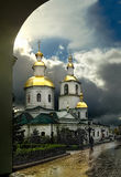 The Kazan church in the Seraphim-Diveevsky Monastery, Russia Royalty Free Stock Photo