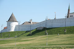 kazan ściana Kremlin Zdjęcia Royalty Free