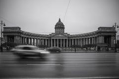 Kazan domkyrka, St Petersburg Royaltyfria Foton