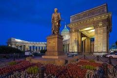 Kazan domkyrka. St Petersburg. Ryssland Arkivfoto