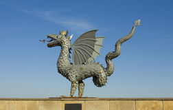 Kazan, dragon - symbol of the city Royalty Free Stock Photography