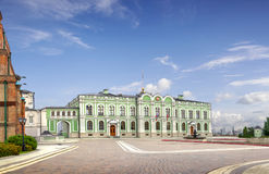 Kazan Governor`s Palace or the Presidential Palace. Kazan, Tat Royalty Free Stock Photo