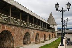 Kazan het Kremlin stock afbeeldingen