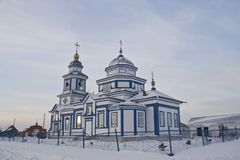 Kazan icon of the Mother of God of Lutsk village.  Stock Images