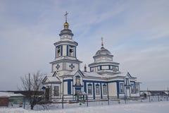 Kazan icon of the Mother of God of Lutsk village.  Stock Photography