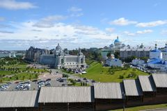 Free Kazan Is A City Of Old Church House Roof Street Royalty Free Stock Images - 158669049