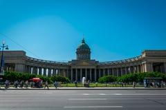 Kazan katedra w Świątobliwym Petersburg, Rosja zdjęcia royalty free
