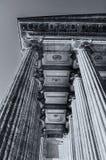 Kazan Katedralna kolumnada w St Petersburg, Rosja St Petersburg architektury tło zdjęcia stock