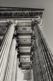 Kazan Katedralna kolumnada w St Petersburg, Rosja St Petersburg architektury tło w sepiowych brzmieniach obraz royalty free