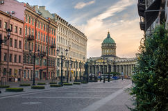 Kazan Kathedraal Stock Afbeeldingen