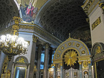 Kazan-Kathedrale, St Petersburg lizenzfreie stockbilder