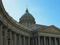 Kazan-Kathedrale, St Petersburg, Russland stockbild