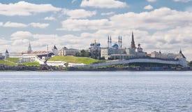 kazan Kreml Fotografia Royalty Free