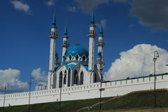 THE KAZAN KREMLIN. VIEW OF THE KAZAN KREMLIN FROM THE AREA Stock Images