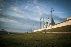 Kazan Kremlin. Beautiful Kremlin in the center of Kazan Royalty Free Stock Photography