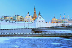 Free Kazan Kremlin, Complex Of Governor Palace, Northern Case Of Gun Yard, Qol Sharif Mosque Stock Photo - 67485700