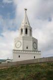 Kazan. Kremlin. La tour de Spasskaya Images libres de droits