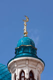 kazan kremlin minaretsmoské royaltyfria foton