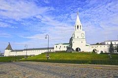 Kazan Kremlin and monument to Musa Jalil Stock Photos