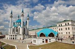 kazan kremlin moskéqolsharif Royaltyfri Foto