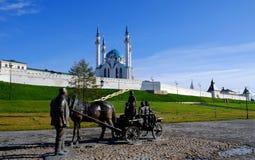 Kazan Kremlin, Kazan Rusia Images libres de droits