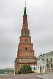 Kazan Kremlin. Soyembika tower. Russia Royalty Free Stock Photo