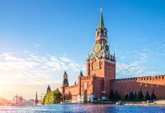 kazan kremlin spasskayatorn Royaltyfri Fotografi