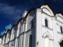 kazan kremlin 19th för domkyrkaårhundrade för annunciation 17 kharkov för stad landmark ukraine arkivbild