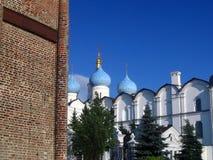 kazan kremlin 19th för domkyrkaårhundrade för annunciation 17 kharkov för stad landmark ukraine arkivbilder