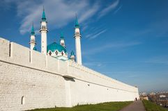 kazan kul meczetu sharif Rosja Zdjęcia Royalty Free