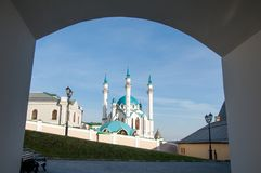 kazan kul meczetu sharif Rosja Obraz Stock