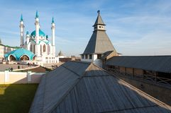 kazan kul meczetu sharif Rosja Fotografia Stock