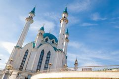kazan kul meczetu sharif Rosja Zdjęcie Stock
