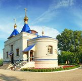 Kazan Moeder van Godskathedraal, orthodoxe kerk Stock Foto