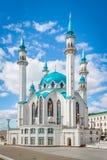 Kazan Moskee onder blauwe hemel Royalty-vrije Stock Fotografie