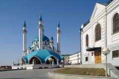 Kazan, mosque Qolsharif Stock Photography